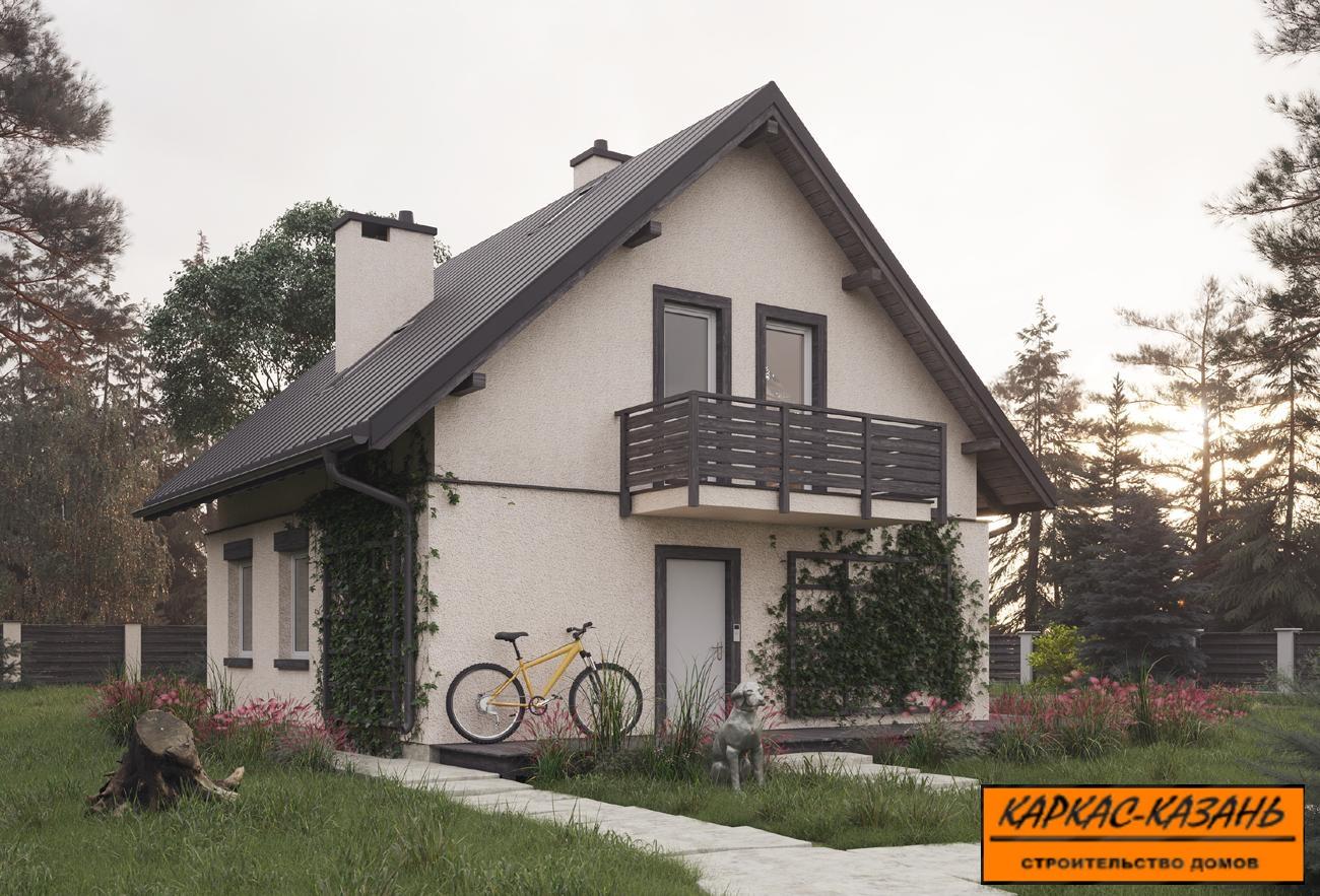проект с балконом