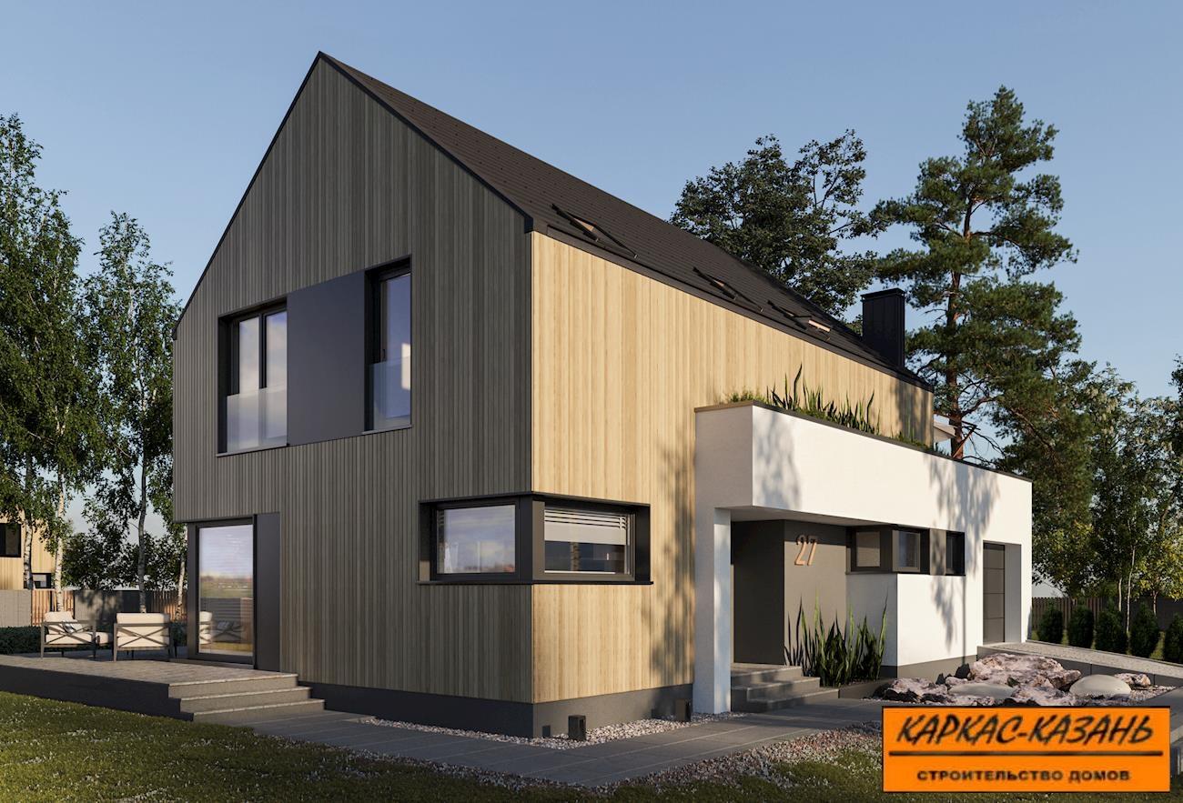современный дизайн дома
