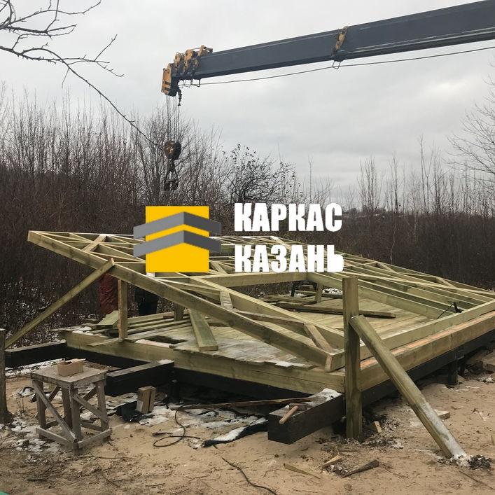 монтаж каркаса