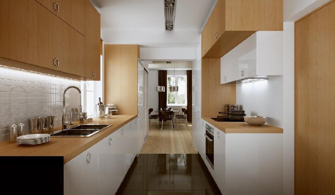 кухня студия в доме