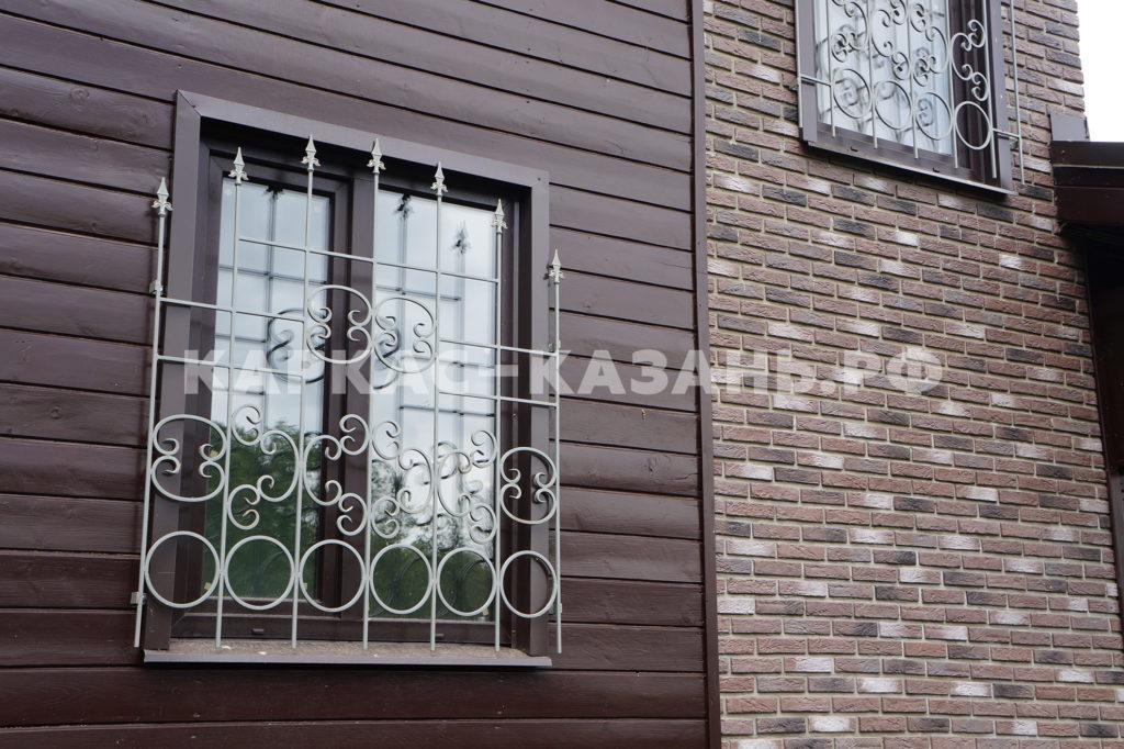 решетка на окна каркасный дом